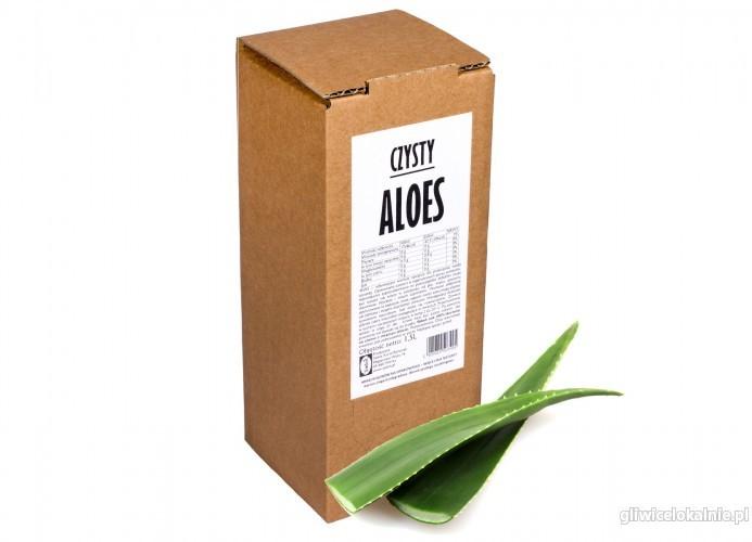 Aloes 100% sok z aloesu naturalny tłoczony bez cukru dla zdrowia NFC