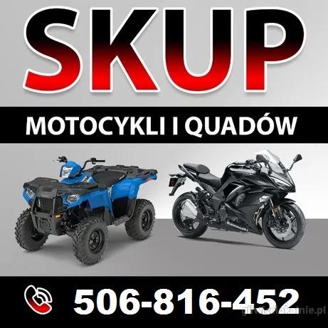 Skup motocykli, motorowerów, skuterów, quadów!