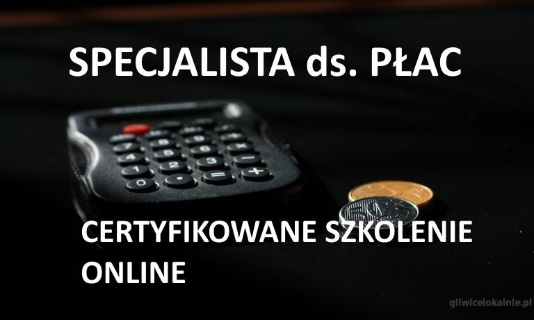 Kurs Specjalista ds. Płac - szkolenie online